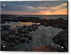Big Island - North Kona Beach Acrylic Print