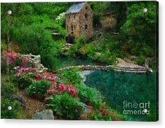 North Little Rock Ark Acrylic Print by Scott B Bennett