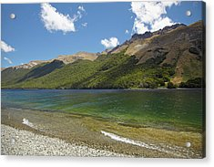 North Mavora Lake, And Livingstone Acrylic Print by David Wall