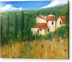 North Of Florence Acrylic Print