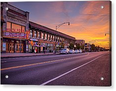 North Park Theatre Acrylic Print