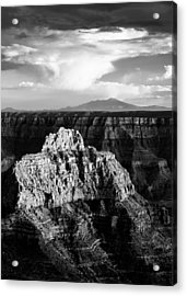 North Rim Acrylic Print by Dave Bowman