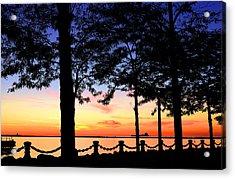 North-shore Sunset Acrylic Print