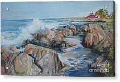 North Shore Surf Acrylic Print