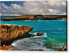 North Shore Waikiki Hawaii Acrylic Print