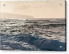 North Shore Waves Acrylic Print