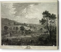 North-west View Of Haddon Acrylic Print by British Library