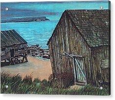 Northeast Coast Beach Acrylic Print