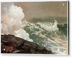 Northeaster Acrylic Print by Winslow Homer