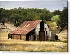 Northern California Barn Acrylic Print