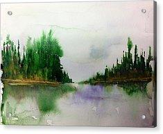Northern Lake - Mellow Day Acrylic Print