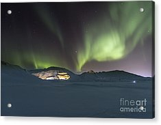 Northern Lights Iceland Acrylic Print