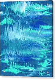 Northern Lights Acrylic Print by Lance Bifoss