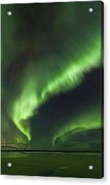 Northern Lights Lofoten Islands Norway Acrylic Print
