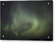 Northern Lights Over Wroxton Acrylic Print by Ryan Crouse