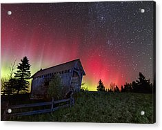 Northern Lights - Painted Sky Acrylic Print