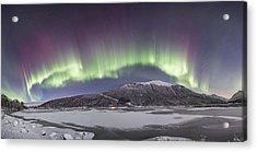 Northern Lights Panoramic Acrylic Print