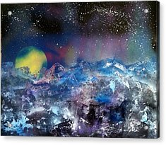 Northern Lights Reflection Acrylic Print