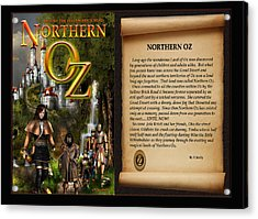 Northern Oz Cover And Intro 48 Acrylic Print by Vjkelly Artwork