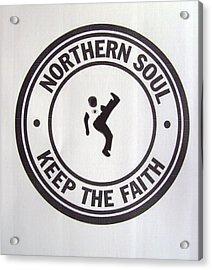 Northern Soul Dancer Acrylic Print