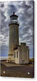 North Head Lighthouse Acrylic Print by Cathy Anderson