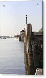 Northport Dock A Different Perspective Acrylic Print