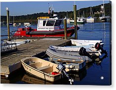 Northport Fire Boat Acrylic Print