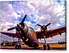 Northrop Yc 125b Raider Acrylic Print by Dan Sproul