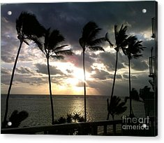 Acrylic Print featuring the photograph Northshore Sunrise by Brigitte Emme