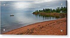 Northumberland Shore Nova Scotia Red Sand Beach Acrylic Print