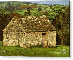 Northumberland Stone Barn Acrylic Print
