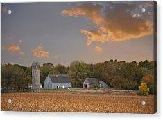 Northwest Iowa Farmscape Acrylic Print