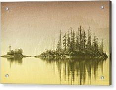 Northwest Islet Acrylic Print