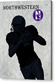 Northwestern Football Acrylic Print