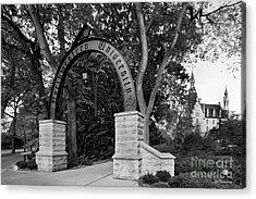 Northwestern University The Arch Acrylic Print by University Icons