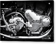 Norton Commando 850 Engine Acrylic Print