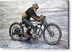 Norton Rider Acrylic Print