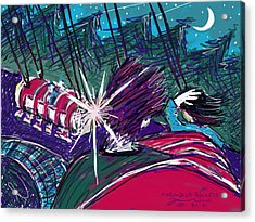Norumbega Rockets Acrylic Print