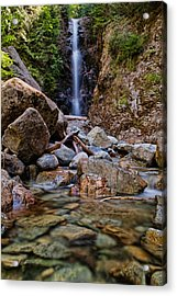 Norvan Falls Acrylic Print by James Wheeler