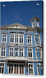 Norway, Bergen Historic Downtown Homes Acrylic Print