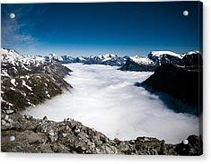 Norway In The Clouds Acrylic Print
