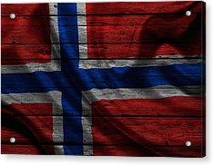 Norway Acrylic Print by Joe Hamilton