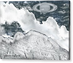 Norway Space Landscape Acrylic Print