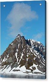 Norway Svalbard Hornsund Heavily Eroded Acrylic Print