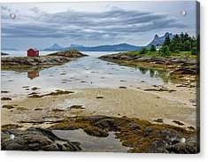 Norway View From Tranoya Acrylic Print by Fredrik Norrsell