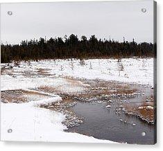 Norwegian Creek Acrylic Print