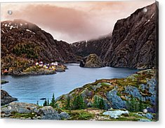 Norwegian Village Acrylic Print