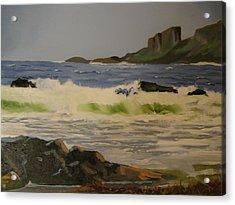 Norwick Beach Shetland Isles Acrylic Print