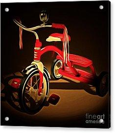 Nostalgic Vintage Tricycle 20150225 Square Acrylic Print