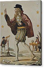 Nostradamus, Michel De Notre Dame Acrylic Print by Everett